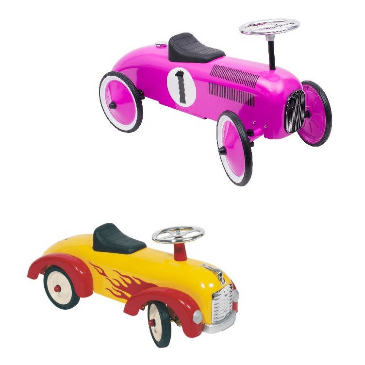 Bright Pink And Flame Cars