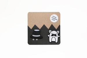 Ricedapper Pin Badge Set