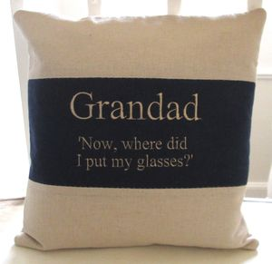 Dad Quote Cushion