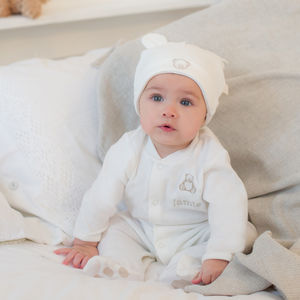 Ivory Teddy Baby Hat - babies' hats