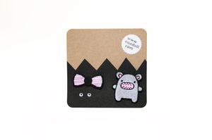 Riceroar Pin Badge Set