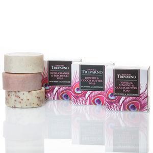 Nourish And Revitalise Soap Trio - bath & body