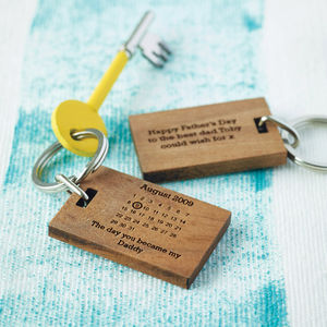 Personalised 'The Day You Became My…' Key Ring - view all mother's day gifts
