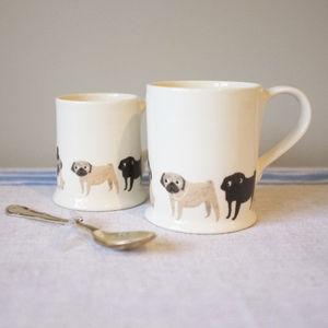 Pug Mug - mugs