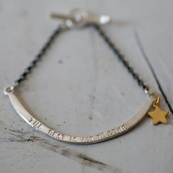 Personalised Smile Bracelet