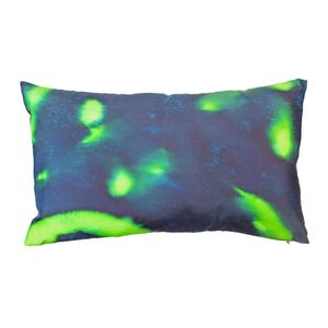 Emerald Hand Painted Pillow Cushion - cushions