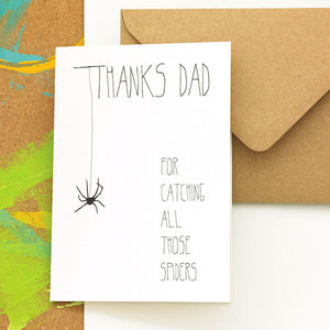 'Thanks Dad' Father's Day Card