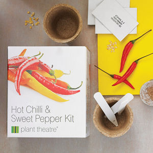 Hot Chilli And Sweet Pepper Kit - gardener