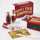 Gourmet Spice Rack In A Matchbox