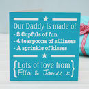 Personalised Daddys Are Made Of Apron