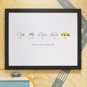Personalised Carvolution Print