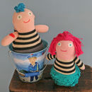 Nancy And Johnny Knitted Toys