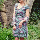 Bubble Print Summer Tunic Dress
