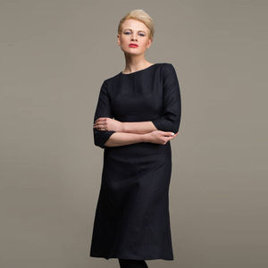 A Line Linen Day Dress - Workwear