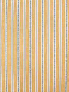 Ledbury Ochre Grey Organic Fabric By The Metre - throws, blankets & fabric