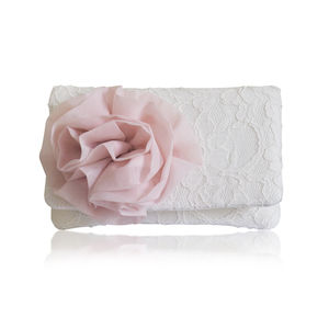 Cherish Lace Small Clutch - wedding fashion