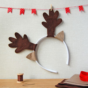 Make Your Own Reindeer Antlers Craft Kit - activities