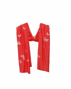 Coral Butterfly Scarf - hats, scarves & gloves