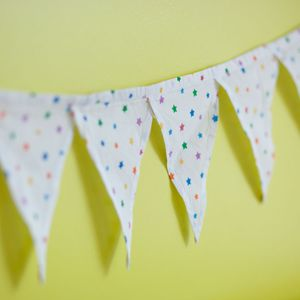 Multicolour Star Bunting - home accessories