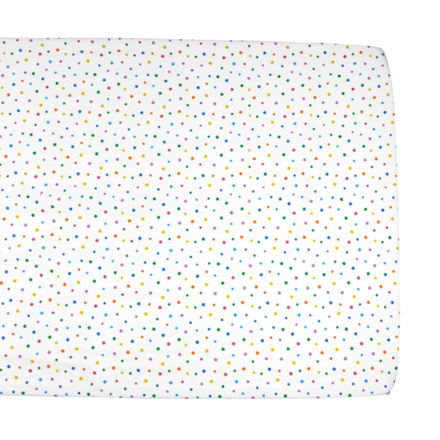 Delicieux Multicolour Star Cot Bed Fitted Sheet