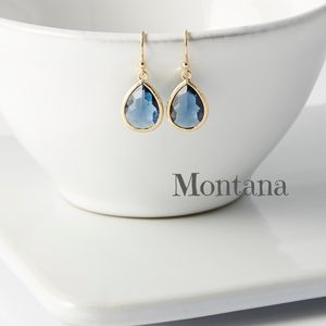 Little Gold Plated Teardrop Earrings - earrings