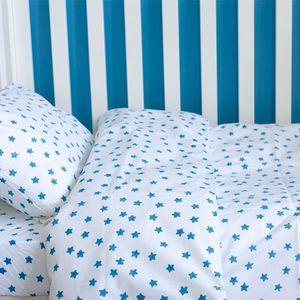 Blue Star Toddler Cot Bed Duvet Set - bedding & accessories