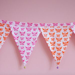 Butterfly Bunting - bunting & garlands