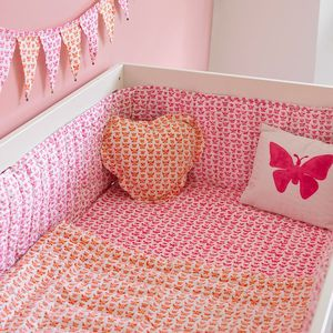Butterfly Cot Bed Bumper