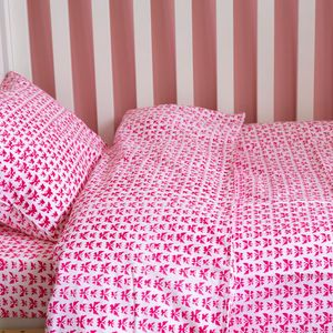 Butterfly Toddler Cot Bed Duvet Set - baby's room