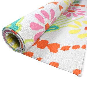 Floral Rug - children's decorative accessories