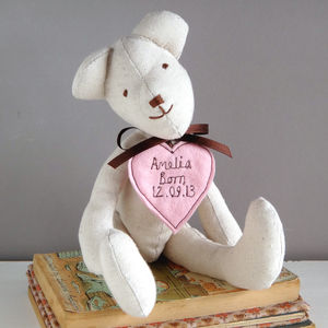 Personalised Teddy Bear For Her - valentine's gifts for her