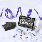 'You're A Star' Chocolate Gift In A Matchbox - food & drink