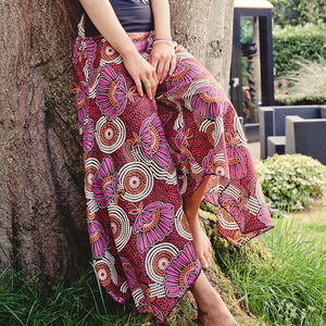 Wide Leg Summer Trousers - women's sale