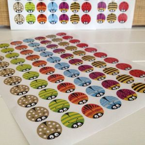 Bug Sticker Reward Chart Re Fill Pack - office & study