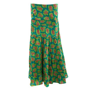 Cotton Summer Maxi Skirt - skirts