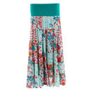 Tiered Cotton Gypsy Skirt