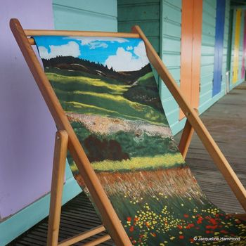 Santa Fe Fields Deckchair by Jacqueline Hammond for Smart Deco Style