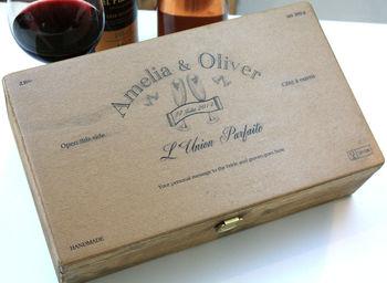 Civil Partnership Bottle Box