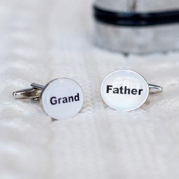 Grandfather Cufflinks And Box
