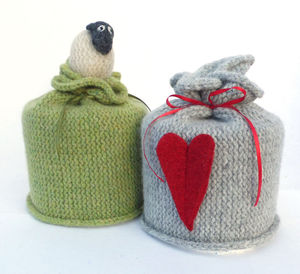 Sheep Or Heart Toilet Roll Cover - toilet roll holders