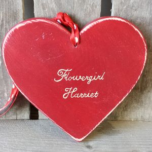 Flowergirl Heart - flower girl gifts