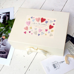 Personalised Wedding Keepsake Box - wedding gifts