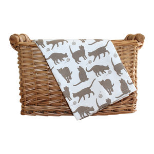 Moggy Tea Towel - kitchen accessories