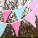 Cotton Bunting 'Pink Polka Dots'