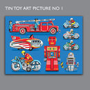 Tin Toy Art Picture No 1