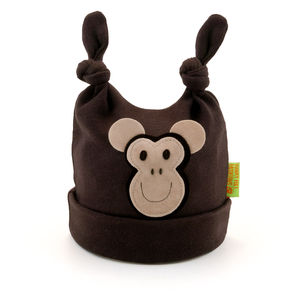 Monkey Baby Hat - babies' hats
