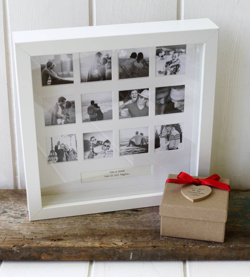 personalised our anniversary photo frame