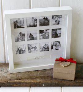 Personalised Anniversary Photo Frame - shop by price