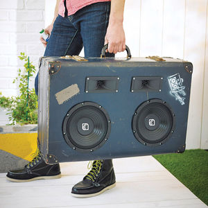 Heisenberg Retro Suitcase Speaker - gifts for fathers