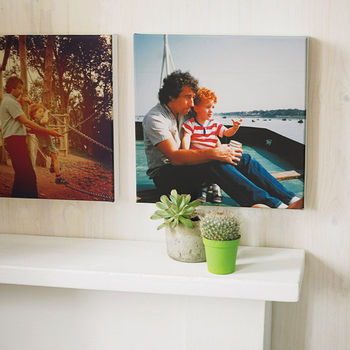 Personalised Instagram Photo Canvas Print